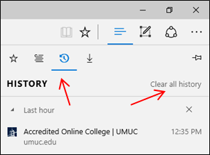 Microsoft Edge: How Do I Clear Cache And Temporary Internet